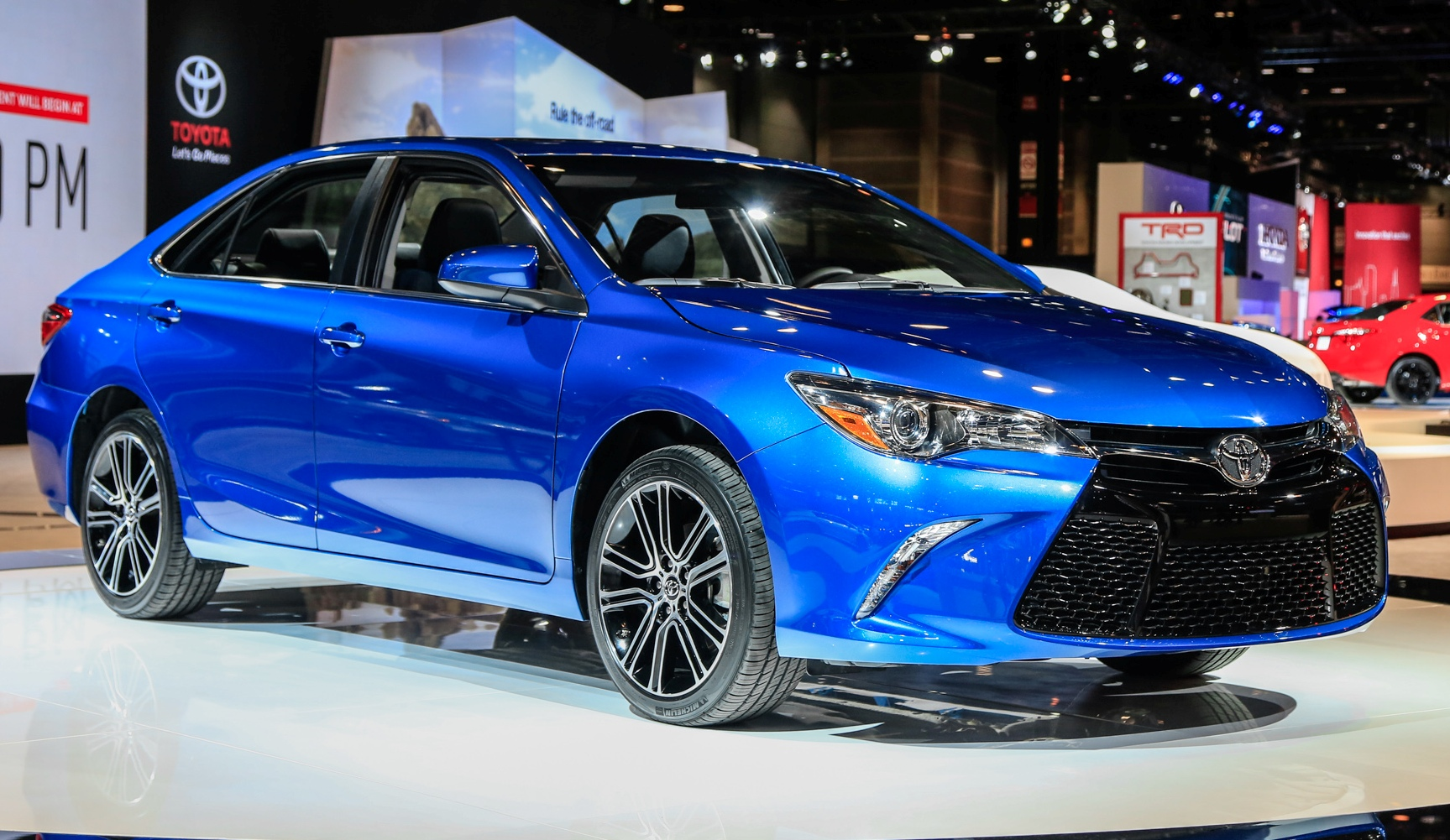 All New 2018 Toyota Camry Appear More Emotional